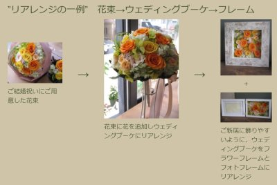 画像1: カジュアルなバラの花束