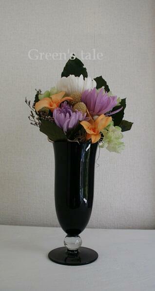 画像1: プリザーブドフラワー | 仏前のお花  (1)